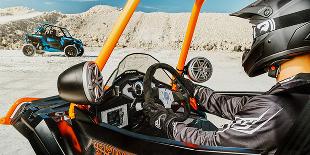High-performance powersports audio products - Built for your outdoor soundtrack!